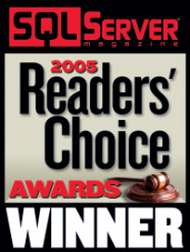 SQL Server Magazine 2005 Readers choice
