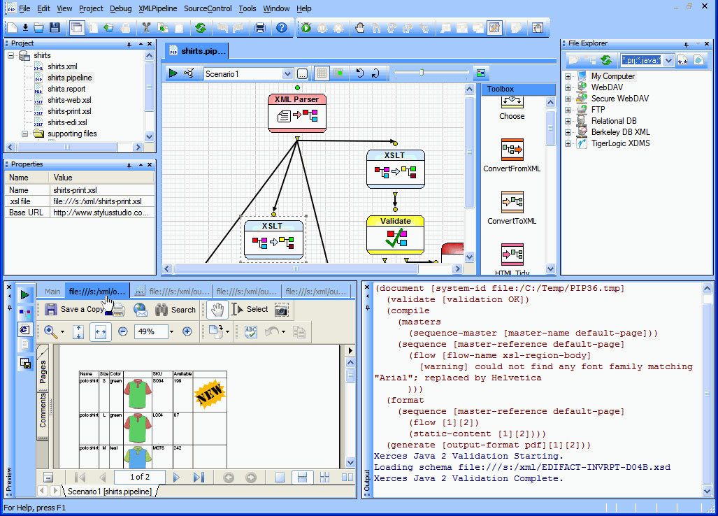 Award winning xml development environment for advanced data integration xml publisher ccuart Images