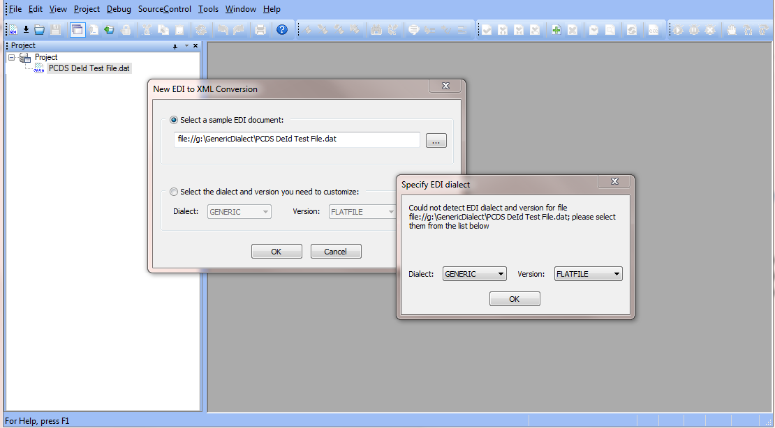Adding Support for XML Converter Generic Dialect in Stylus
