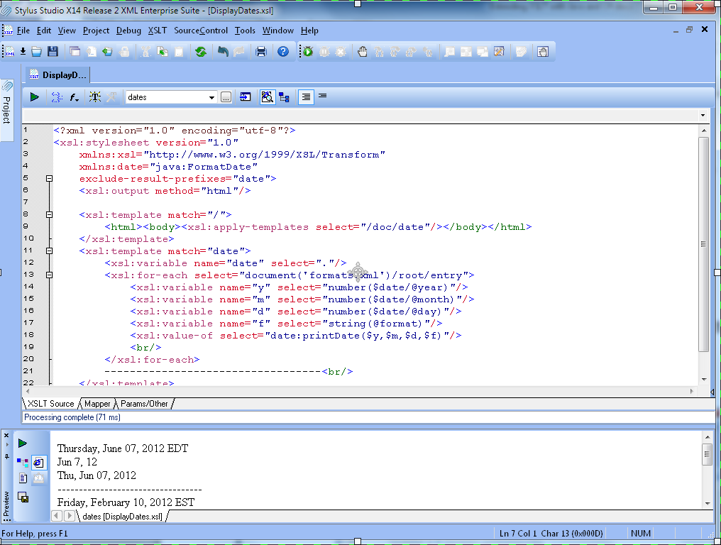 Extending XSLT with Java and C#